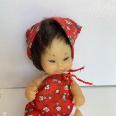 Muñecas Lesly y Barriguitas: ANTIGUA BARRIGUITAS CHINA CHINITA ORIENTAL CON SU ROPA ORIGINAL - FAMOSA BARRIGUITA . Lote 175941487