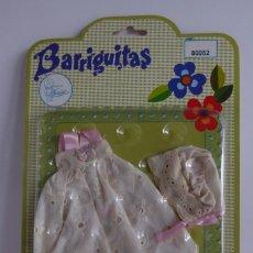 Muñecas Lesly y Barriguitas: FALDÓN BORDADO DE BARRIGUITAS A ESTRENAR EN BLÍSTER CON CATÁLOGO - REF. 80952. Lote 171329863