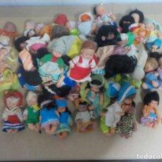Muñecas Lesly y Barriguitas: CINCUENTA Y TRES MUÑECAS BARRIGUITAS.FAMOSA. Lote 176382892