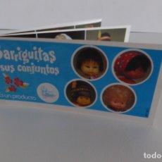 Muñecas Lesly y Barriguitas: CATÁLOGO AZUL BARRIGUITAS Y SUS CONJUNTOS. Lote 177895880