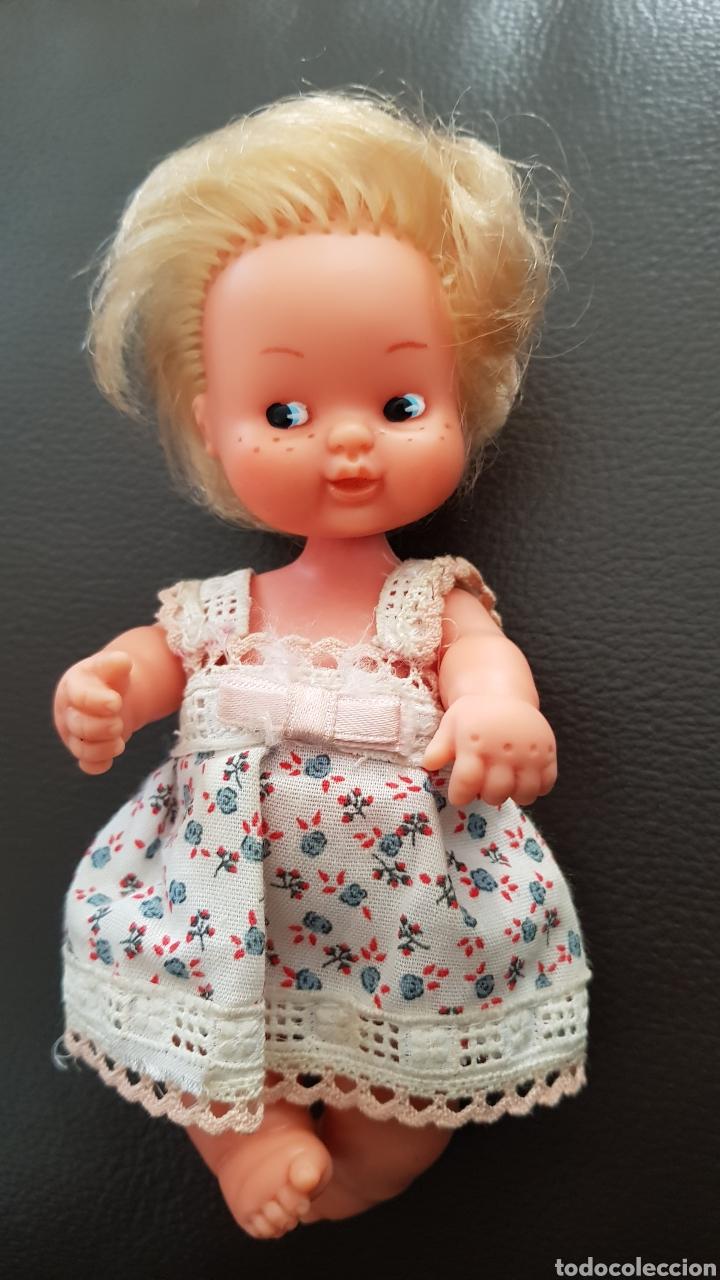 Muñecas Lesly y Barriguitas: Muñeca Barriguitas de famosa pecosa en excelente estado con ropa original - Foto 2 - 178348171