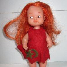 Muñecas Lesly y Barriguitas: MUÑECA BARRIGUITAS BRUJA BOSQUE, PIERNA RECTA DE FAMOSA. Lote 178825450