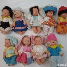 Muñecas Lesly y Barriguitas: LOTE 9 BARRIGUITAS. Lote 179180392
