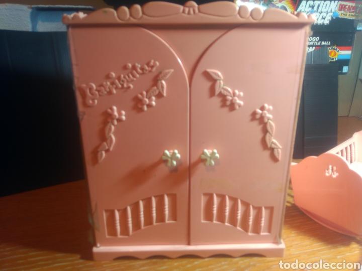 Muñecas Lesly y Barriguitas: Barriguitas, set armario , cuna, muñeco, ropa - Foto 7 - 179205758