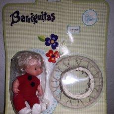 Muñecas Lesly y Barriguitas: BARRIGUITAS CON TACATACA DE MIMBRE 70,S. Lote 179242306
