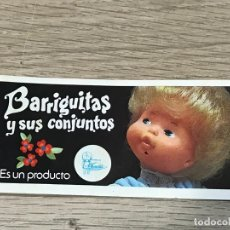 Bonecas Lesly e Barriguitas: BARRIGUITAS CATALOGO 1979 FAMOSA. Lote 179551525
