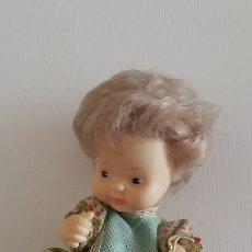 Muñecas Lesly y Barriguitas: BARRIGUITAS AÑOS 80 - RUBIA VESTIDO FLORES. Lote 180104006