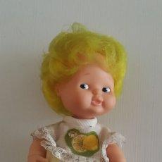 Muñecas Lesly y Barriguitas: BARRIGUITAS AÑOS 80 - PELO AMARILLO LIMON. Lote 180104056
