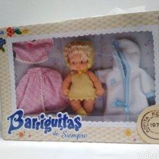 Muñecas Lesly y Barriguitas: BARRIGUITAS DE SIEMPRE REEDICION 1979 FAMOSA NUEVA. Lote 180125821