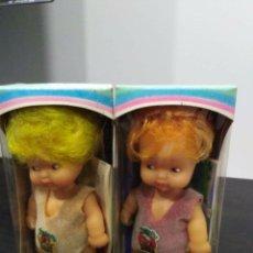 Muñecas Lesly y Barriguitas: 2 BARRIGUITA CAMBIA COLOR. Lote 180236858