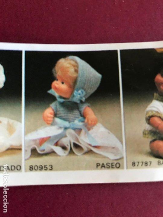 Muñecas Lesly y Barriguitas: CONJUNTO PASEO DE BARRIGUITAS FAMOSA AÑOS 70 ÉPOCA NANCY - Foto 5 - 180278983