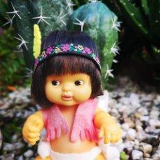 Muñecas Lesly y Barriguitas: BARRIGUITAS INDIO AÑOS 80. Lote 180312258