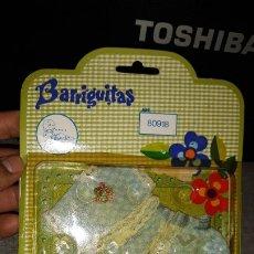 Muñecas Lesly y Barriguitas: VESTIDO BARRIGUITAS REF 80918, EN BLISTER. AÑOS 70. Lote 180417466