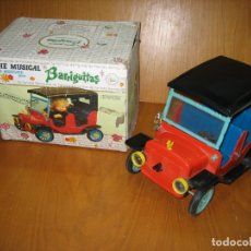 Muñecas Lesly y Barriguitas: COCHE MUSICAL BARRIGUITAS. Lote 182096533