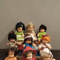 Muñecas Lesly y Barriguitas: LOTE 9 BARRIGUITAS.. Lote 182204845