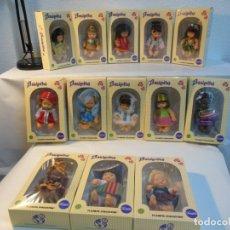 Muñecas Lesly y Barriguitas: LOTE DE BARRIGUITAS DEL MUNDO. Lote 183017428