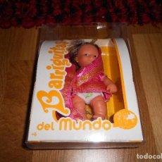 Muñecas Lesly y Barriguitas: BARRIGUITAS DEL MUNDO, HINDÚ, NUEVA, CON CATÁLOGO. Lote 183551106