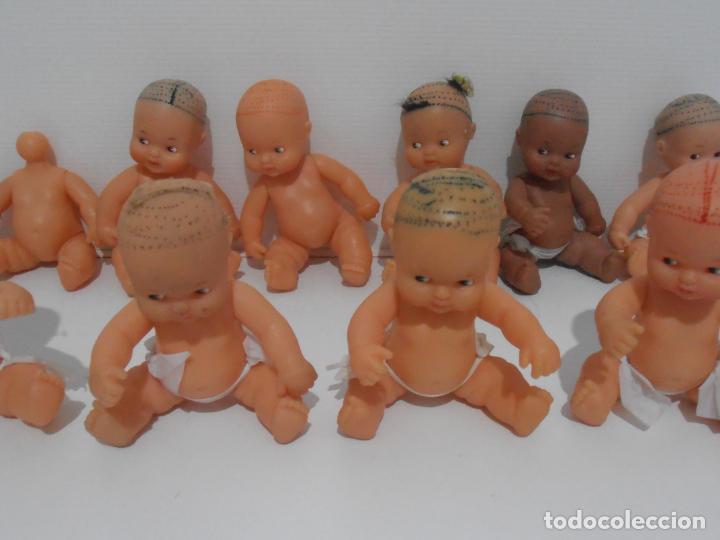 Muñecas Lesly y Barriguitas: LOTE 10 BARRIGUITAS SIN PELO Y 2 CUERPOS, FAMOSA - Foto 3 - 184861533
