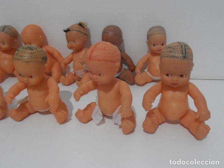 Muñecas Lesly y Barriguitas: LOTE 10 BARRIGUITAS SIN PELO Y 2 CUERPOS, FAMOSA - Foto 4 - 184861533