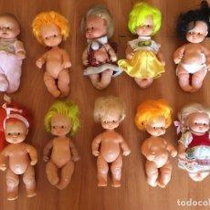 Muñecas Lesly y Barriguitas: LOTE 10 BARRIGUITAS FAMOSA . Lote 186134512