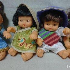 Muñecas Lesly y Barriguitas: LOTE DE CUATRO BARRIGUITAS DE FAMOSA COLECCIÓN PLANETA . Lote 190539153