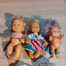 Muñecas Lesly y Barriguitas: BARRIGUITAS DE FAMOSA Y 2 MUÑECAS MÁS DE FAMOSA. Lote 191935947