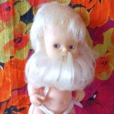 Muñecas Lesly y Barriguitas: BARRIGUITAS ENANITO-GNOMO DEL BOSQUE CON BARBA BLANCA-97 NUCA. Lote 192048793