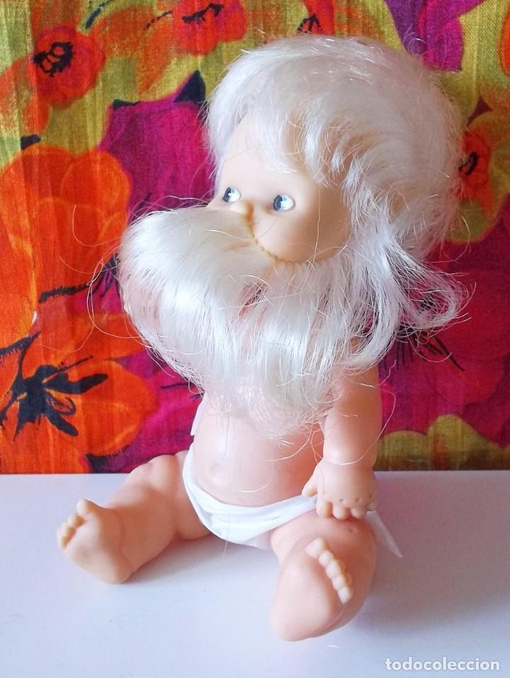 Muñecas Lesly y Barriguitas: BARRIGUITAS ENANITO-GNOMO DEL BOSQUE CON BARBA BLANCA-97 NUCA - Foto 4 - 192048793