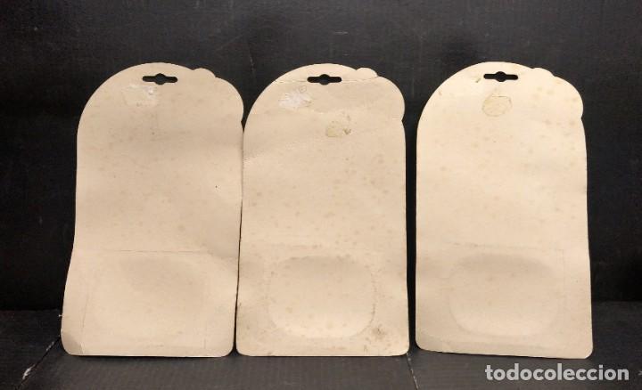 Muñecas Lesly y Barriguitas: Lote 3 blister de colgante con identificación de barriguitas - Foto 2 - 193282530