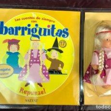 Muñecas Lesly y Barriguitas: BARRIGUITAS FAMOSA CUENTOS COLECCION SALVAT 2003 - FASCICULO 17 + RAPUNZEL. Lote 194303542