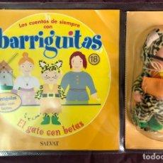Muñecas Lesly y Barriguitas: BARRIGUITAS FAMOSA CUENTOS COLECCION SALVAT 2003 - FASCICULO 18 + EL GATO CON BOTAS. Lote 194303636