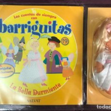 Muñecas Lesly y Barriguitas: BARRIGUITAS FAMOSA CUENTOS COLECCION SALVAT 2003 - FASCICULO 19 + LA BELLA DURMIENTE. Lote 194303717