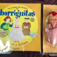 Muñecas Lesly y Barriguitas: BARRIGUITAS FAMOSA CUENTOS COLECCION SALVAT 2003 - FASCICULO 22 + ROMEO Y JULIETA. Lote 194303976