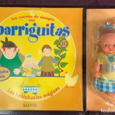 Muñecas Lesly y Barriguitas: BARRIGUITAS FAMOSA CUENTOS COLECCION SALVAT 2003 - FASCICULO 30 + LA HABICHUELAS MAGICAS. Lote 194304177