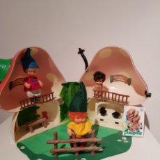 Muñecas Lesly y Barriguitas: BARRIGUITAS GRAN LOTE DE MUÑECAS CASITA DEL BOSQUE ACCESORIOS GRAN ESTADO ORIGINAL. Lote 194629738
