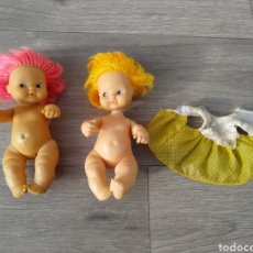 Muñecas Lesly y Barriguitas: LOTE DE 2 BARRIGUITAS. Lote 194699060