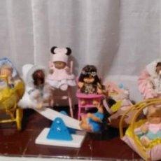 Muñecas Lesly y Barriguitas: LOTE DE BARRIGUITAS Y ACCESORIOS. Lote 194708946