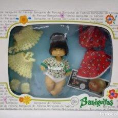 Muñecas Lesly y Barriguitas: TROUSSEAU BARRIGUITAS CHINO CON MD, CAFETAL Y LANAS AÑOS 80-ALMACÉN. Lote 194904252