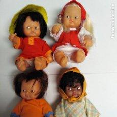 Muñecas Lesly y Barriguitas: LOTE BARRIGUITAS DEL MUNDO. Lote 194952803