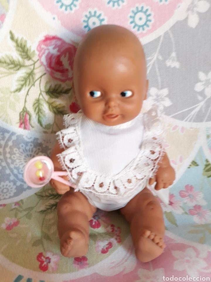 Muñecas Lesly y Barriguitas: Barriguitas Bebé mulato/negrito años 80 - Foto 2 - 195003097