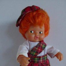 Muñecas Lesly y Barriguitas: BARRIGUITAS PAÍSES - ESCOCIA. Lote 195029566