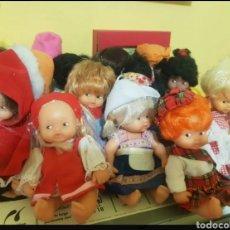Muñecas Lesly y Barriguitas: BARRIGUITAS DEL MUNDO. Lote 195056595
