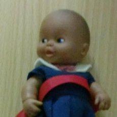 Muñecas Lesly y Barriguitas: BARRIGUITAS PELÓN VESTIDA DE COLEGIALA ROPA Y ZAPATOS ORIGINALES. Lote 195312483