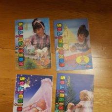 Muñecas Lesly y Barriguitas: 4 ANTIGUOS CATALOGOS BARRIGUITAS. Lote 195336343