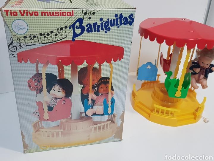 Muñecas Lesly y Barriguitas: TIO VIVO MUSICAL BARRIGUITAS / FUNCIONA / Caja en buen estado - Foto 9 - 195388938