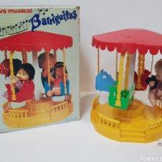 Muñecas Lesly y Barriguitas: TIO VIVO MUSICAL BARRIGUITAS / FUNCIONA / CAJA EN BUEN ESTADO. Lote 195388938