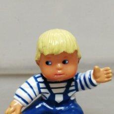Muñecas Lesly y Barriguitas: FIGURA, EN PVC MASCOTA BEBE BARRIGUITAS . Lote 195442120