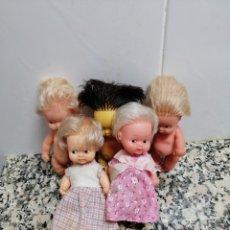Muñecas Lesly y Barriguitas: 5 MUÑECAS BARRIGUITAS DE FAMOSA. Lote 195444771