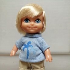 Muñecas Lesly y Barriguitas: MUÑECA BARRIGUITAS NIÑO FAMOSA AÑO 2008. Lote 196002080