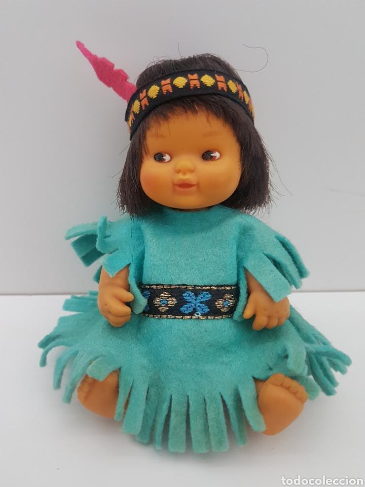 Muñecas Lesly y Barriguitas: Barriguitas indio + vestido indu. Famosa. Años 80 - Foto 6 - 196140641